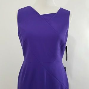 9b6403b9 Tahari Dresses | Nwt Asl Purple Sleeveless Sheath Petite 8p | Poshmark